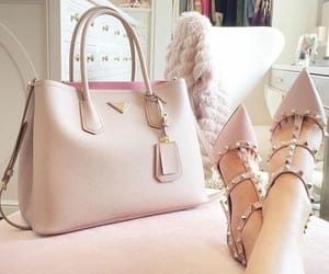 bag, fashion, and high-heels image