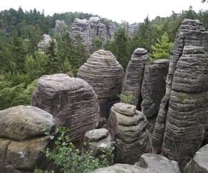 nature, rock, and sandstone image