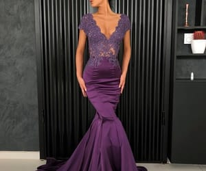 redcarpet, occasion, and purpledress image