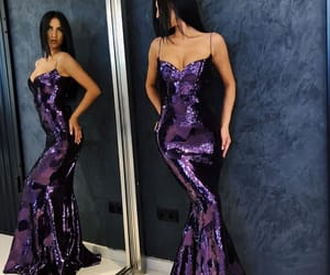 party, shiny, and promdress image