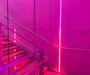 pink, neon, and glow image