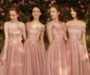 beautiful dress, girls, and tulle dress image