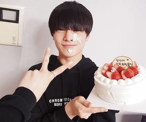 kpop, strawberry, and cute image
