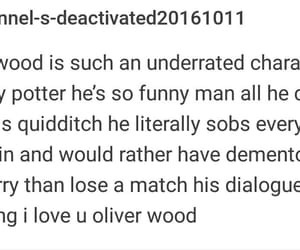 harry potter, tumblr, and oliver wood image