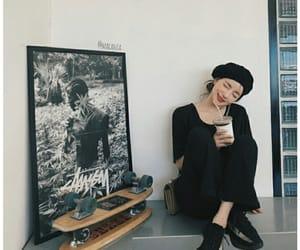 aesthetic, artwork, and asian girl image