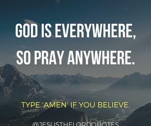 anywhere, believe, and faith image