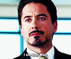 iron man, gif, and robert downey jr image