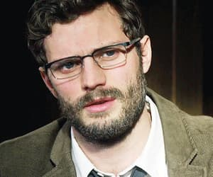 actor, funny face, and Jamie Dornan image