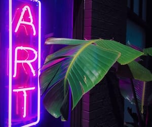 art, neon, and grunge image