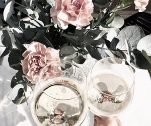 drinks, flowers, and summer image