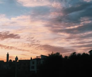 boring, pink, and sunset image