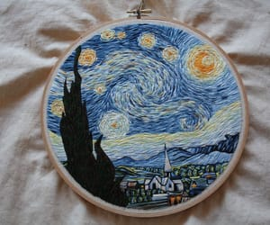 art, van gogh, and movie image
