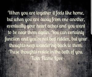 feelings, flame, and heart image