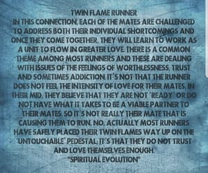 flame, runner, and twin image