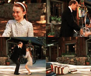 gif, lindsay lohan, and the parent trap image