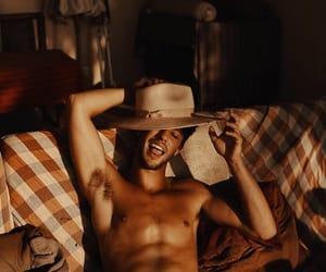 boy, shirtless, and tan image