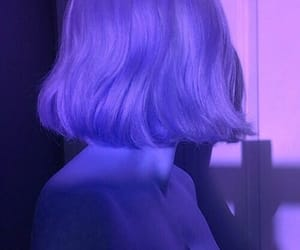 hair, girl, and aesthetic image