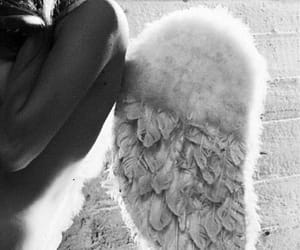 angel and Angel Wings image