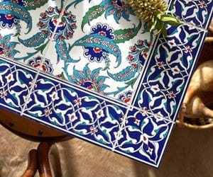 table, turkey, and mediterranean tile image