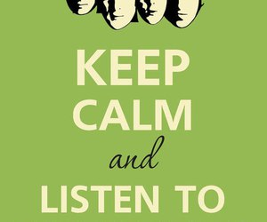 keep calm, the beatles, and ohh yeah image
