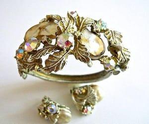 vintage earrings, vintage bracelet, and vintage demi parure image