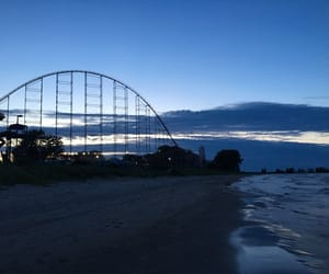 beach, cedar point, and summer image