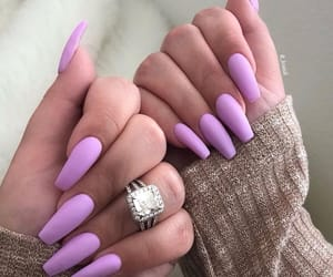 acrylics, nails goals, and nail polish image