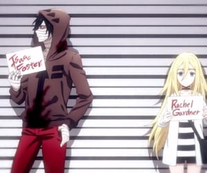 characters, anime, and angels of death image