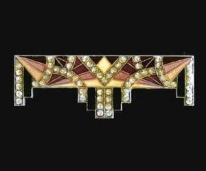etsy, art deco jewelry, and heidistreasurechest image