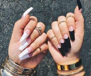 nail art, nail inspo, and girly+chic+beauty image