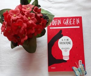 blue, book, and johngreen image