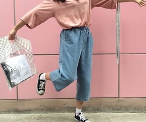pink, aesthetic, and style image