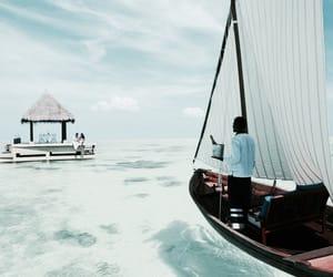 summer, sea, and Maldives image