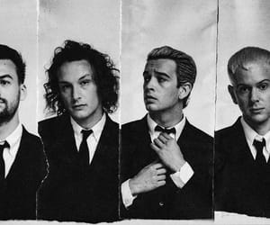 black and white, pop, and matty healy image