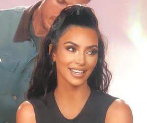 kim, makeup, and kardashian image
