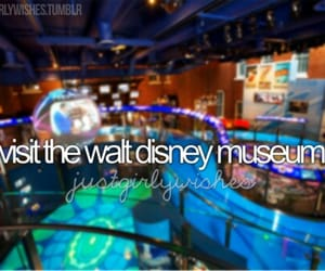 disney, museum, and before i die image