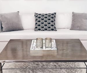 couch, deco, and living room image