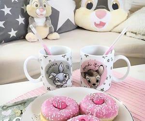 bambi, pillow, and pink image
