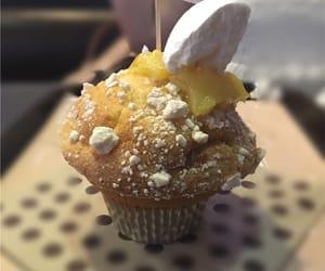 cake, lemon, and cupcake image