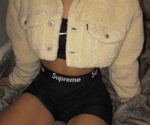 outfit, supreme, and fashion image