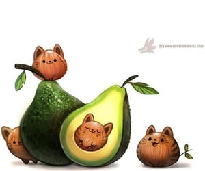 animal, art, and avocado image