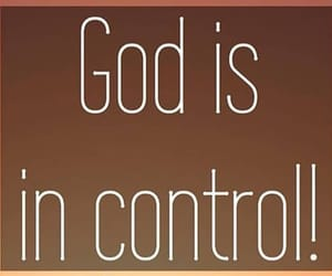control, faith, and god image