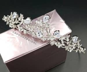 diamonds, fancy, and tiara image