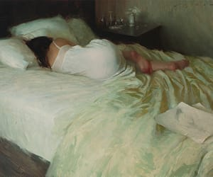 art, girl, and Jeremy Lipking image