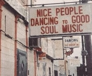 music, people, and vintage image