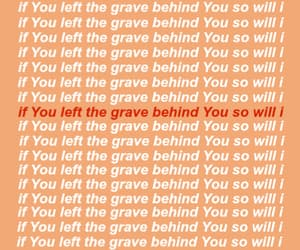grave, peach, and red image