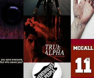 aesthetic, teen wolf, and alpha image