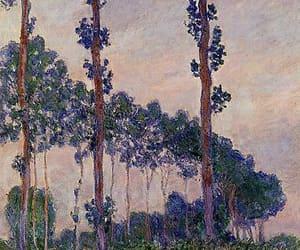 art, claude monet, and impressionism image