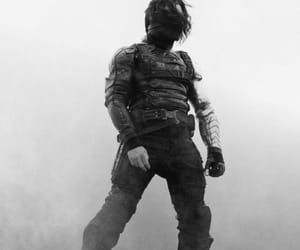 bucky barnes, Marvel, and winter soldier image