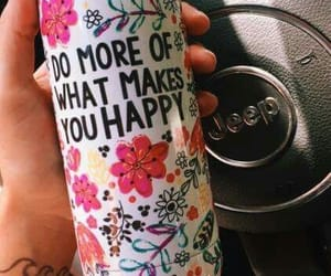 happy, jeep, and quote image
